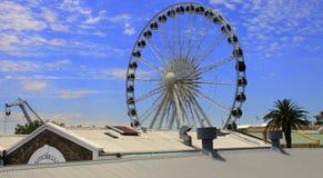 Rueda de Ferris grande Foto de archivo libre de regalías