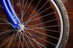 Rueda de la bici foto de archivo libre de regalías