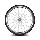 Rueda de la bici Imagen de archivo libre de regalías