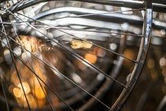 Rueda de la bici Fotografía de archivo libre de regalías