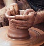 Rueda de la cerámica Foto de archivo libre de regalías