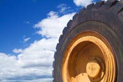 Rueda de la construcción Imagen de archivo libre de regalías