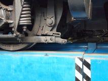 Rueda de la locomotora Fotografía de archivo libre de regalías