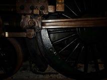 Rueda de la locomotora de vapor Fotos de archivo libres de regalías