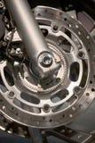 Rueda de la motocicleta Imágenes de archivo libres de regalías