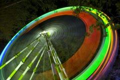 Rueda de la noche Imagen de archivo libre de regalías