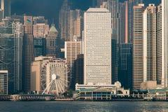 rueda de la observación de Hong-Kong Fotografía de archivo libre de regalías