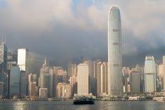 rueda de la observación de Hong-Kong Imagen de archivo libre de regalías