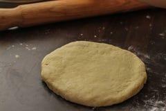 Rueda de nuestra pasta fresca de la galleta Imagenes de archivo