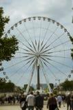 Rueda de París Ferris Fotos de archivo libres de regalías
