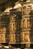 Rueda de rezo tibetana Fotos de archivo libres de regalías