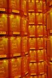 Rueda de rogación budista Foto de archivo libre de regalías