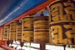 Rueda de rogación, Gangtok, Sikkim, la India Fotografía de archivo