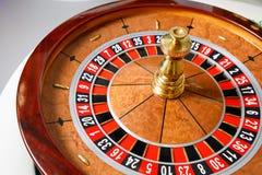 Rueda de ruleta del casino Fotos de archivo libres de regalías