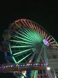 Rueda de Santa Mónica Ferris foto de archivo libre de regalías