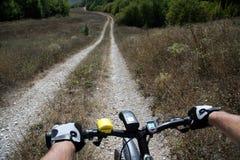Rueda de una bicicleta Fotos de archivo