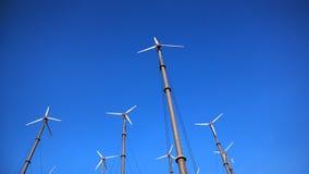 Rueda de viento Foto de archivo libre de regalías