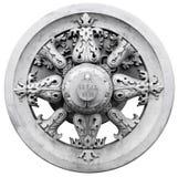 Rueda del cañón del zar Imagen de archivo libre de regalías