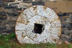 Rueda del cemento Imagenes de archivo