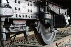 Rueda del ferrocarril Fotos de archivo