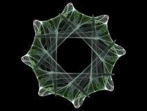 Rueda del fractal Foto de archivo libre de regalías