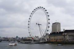 Rueda del milenio (ojo de Londres) Foto de archivo