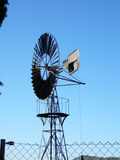 Rueda del molino de viento foto de archivo libre de regalías