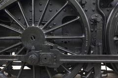 Rueda del motor de vapor Foto de archivo libre de regalías