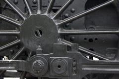 Rueda del motor de vapor Imágenes de archivo libres de regalías