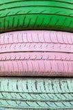 Rueda del neumático Imagen de archivo libre de regalías