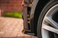 Rueda del neumático/del neumático y de la aleación Foto de archivo libre de regalías