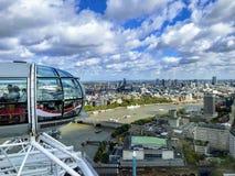 Rueda del ojo de Londres fotos de archivo