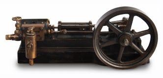 Rueda del pistón del vapor imagen de archivo libre de regalías