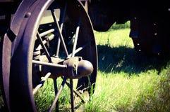 Rueda del tractor Fotos de archivo