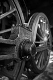 Rueda del tren del vapor Fotos de archivo