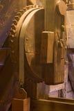 Rueda dentada de madera vieja Fotografía de archivo