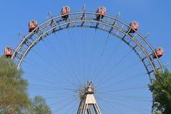 Rueda gigante de los transbordadores de Viena (Riesenrad) Fotografía de archivo