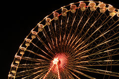 Rueda grande en la noche Fotografía de archivo