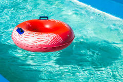 Rueda inflable de la natación Imagen de archivo libre de regalías