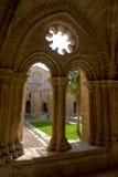 Rueda Monasterio, Zaragoza, Aragona, Spagna Foto de archivo libre de regalías