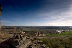 Rueda Monasterio, Zaragoza, Aragona, Spagna Imagenes de archivo