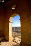 Rueda Monasterio, Zaragoza, Aragona, Spagna Fotografía de archivo libre de regalías