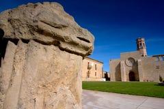 Rueda Monasterio, Zaragoza, Aragona, Spagna Royalty Free Stock Photos