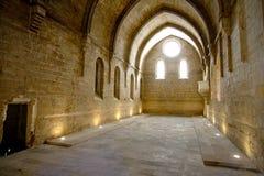 Rueda Monasterio, Zaragoza, Aragona, Spagna Royalty Free Stock Photography
