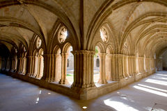 Rueda Monasterio, Zaragoza, Aragona, Spagna Royalty Free Stock Photo