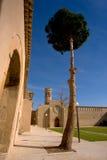 Rueda Monasterio, Zaragoza, Aragona, Spagna Stock Image