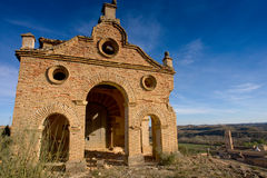 Rueda Monasterio, Zaragoza, Aragona, Spagna Stock Photos