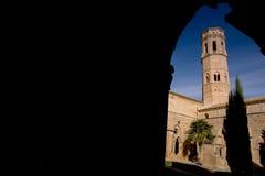 Rueda Monasterio, Zaragoza, Aragona, Spagna Stock Images