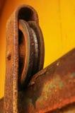 Rueda oxidada Imagenes de archivo