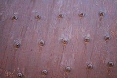 Rueda oxidada de la trituradora de la mina del cemento foto de archivo libre de regalías